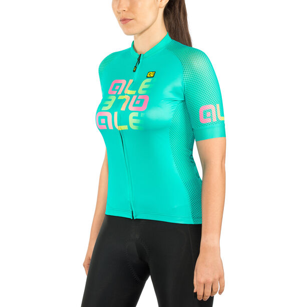 Alé Cycling Solid Mirror SS Jersey Damen green