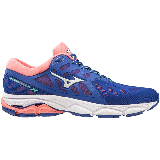 Mizuno Wave Ultima 11 Laufschuhe Damen surf the web/white/sugar coral