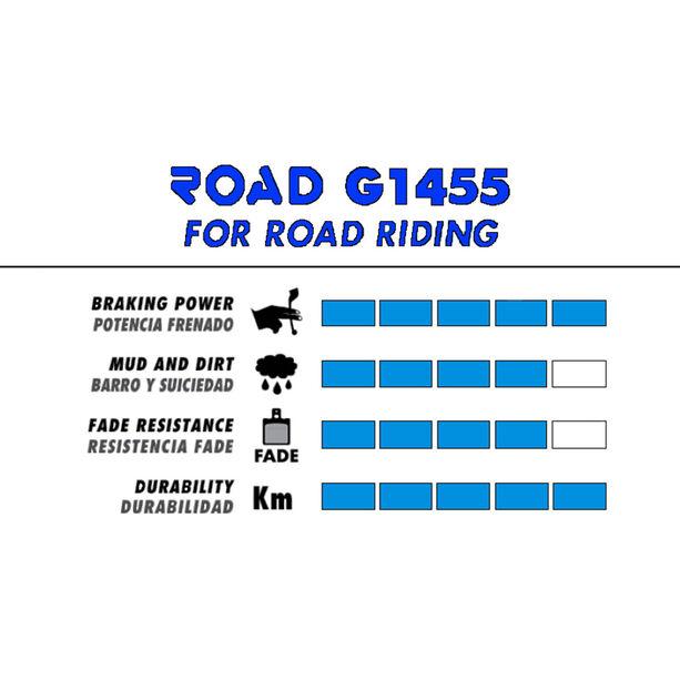 GALFER BIKE Road Bremsbeläge BR-M4146/445/446/485/486/515/525/575/BR-C601