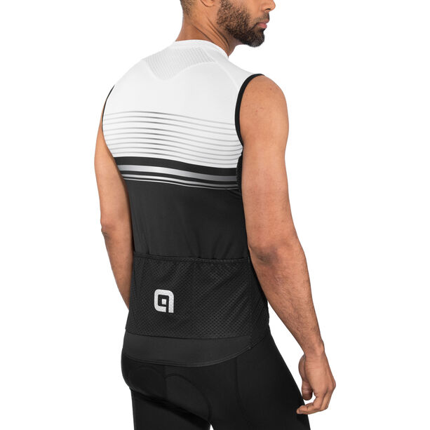 Alé Cycling Graphics PRR Slide Sleeveless Jersey Herren black-white