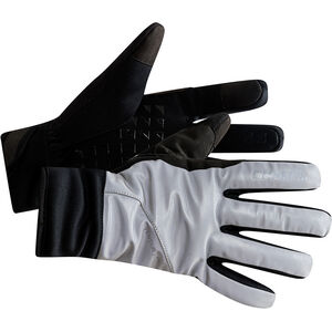 Craft Siberian Glow Gloves silver/black silver/black