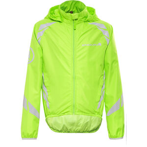 Endura Luminite II Jacket Kids hi-viz green/reflective