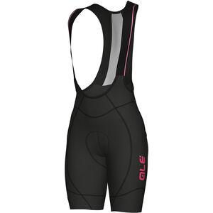 Alé Cycling PRR 2.0 Agonista 2 Bib Shorts Damen black-fluo pink black-fluo pink