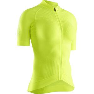 X-Bionic Effektor G2 Fahrrad Zip Trikot SS Damen phyton yellow/arctic white phyton yellow/arctic white