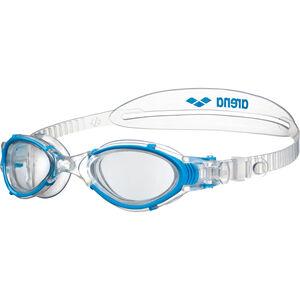 arena Nimesis Crystal Women Swim Goggles Damen clear-clear-lightblue clear-clear-lightblue