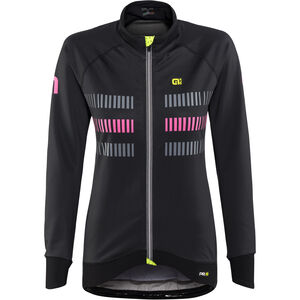 Alé Cycling Graphics PRR Strada 2.0 Jacket Women black-fluo pink