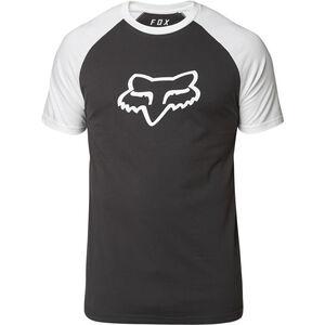 Fox Blocked Premium Kurzarm T-Shirt Herren black/white black/white