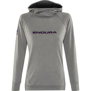 Endura SingleTrack Hoodie Damen grey grey