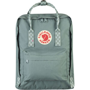 Fjällräven Kånken Backpack frost green/chess pattern