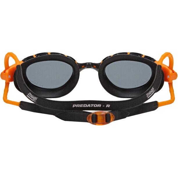 Zoggs Predator Polarized Goggles L orange/black/smoke