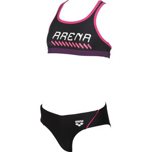 arena Sumo Two-Pieces Swimsuit Girls black-fresia