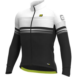 Alé Cycling Graphics PRR Slide Micro Jersey Herren black-white black-white