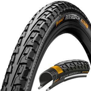 Continental Ride Tour Reifen 27 x 1 1/4 Zoll Draht schwarz/schwarz schwarz/schwarz