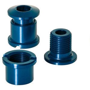 XLC Kettenblattschrauben 5er Set blau blau