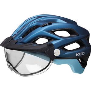 KED Covis Lite Helmet nightblue lightblue matt nightblue lightblue matt