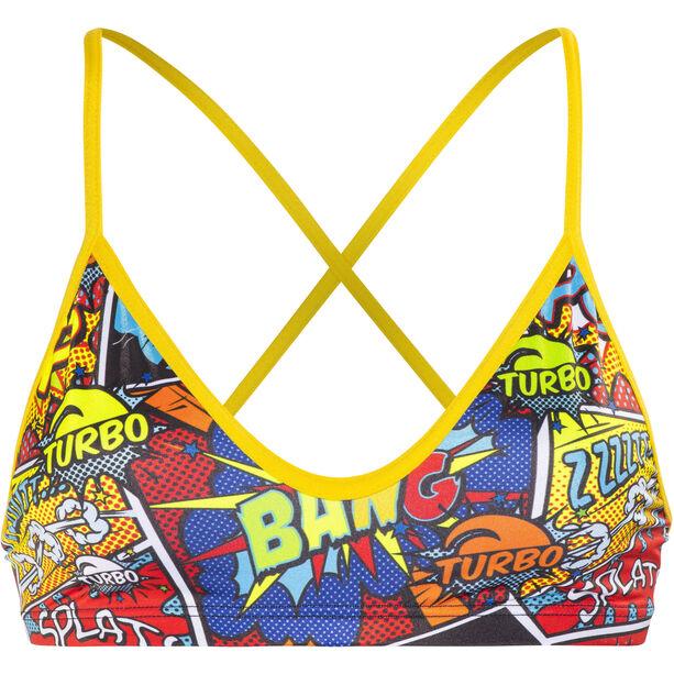 Turbo Boom Bikini Top Damen red