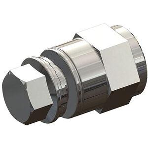 Croozer Achsmutteradapter M10x1 silber silber