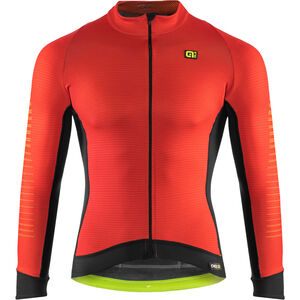Alé Cycling Graphics PRR Thermo Road Jersey Herren red-fluo yellow red-fluo yellow