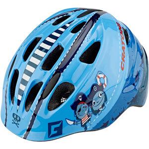 Cratoni Akino Helmet Kids pirat blau glanz