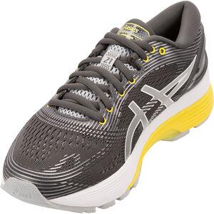 asics Gel-Nimbus 21 Shoes Damen dark grey/mid grey dark grey/mid grey