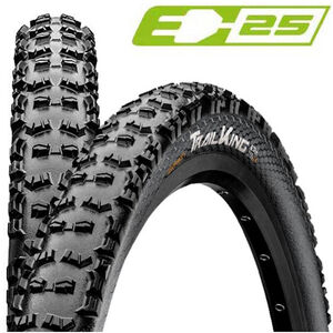 "Continental Trail King 2.6 Performance Faltreifen 27.5x2.60"" TL-Ready E-25 black black"