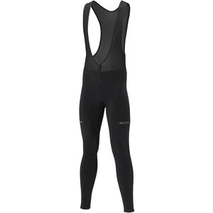 Shimano Wind Bib Tights Herren black black