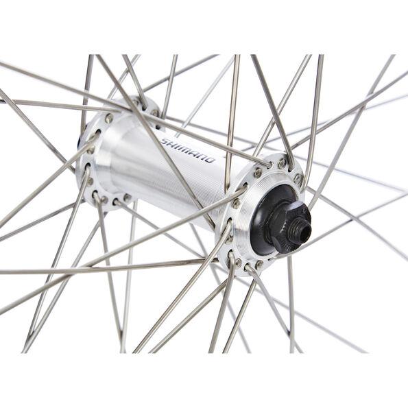 Exal ZX 19 V-Rad 26 x 1.75 Nabe silber