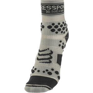 Compressport Racing V2 Trail High Socks grey/black grey/black