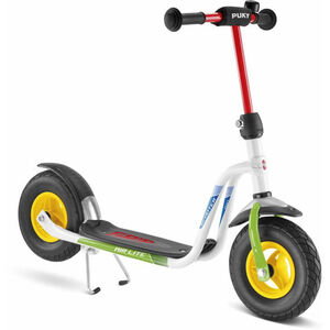 Puky R 03 L Luftbereifter Roller Kinder weiß/kiwi weiß/kiwi