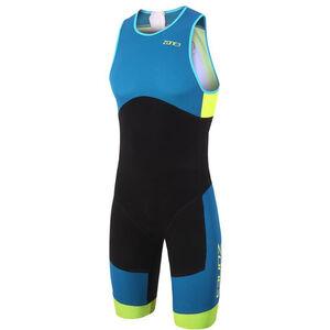 Zone3 Aeroforce Sub 220 ITU Design Reverse Zip Trisuit Men black/teal/yellow bei fahrrad.de Online
