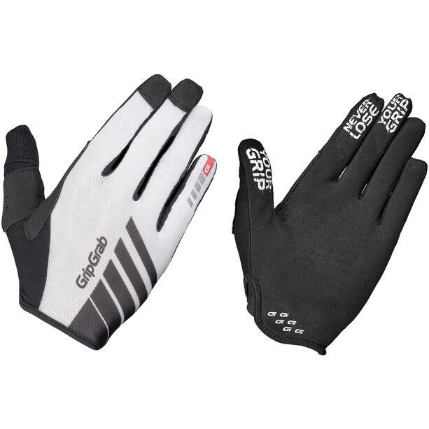 GripGrab Racing InsideGrip Full Finger Gloves white