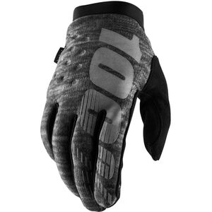 100% Brisker Cold Weather Gloves heather grey heather grey