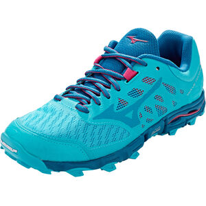 Mizuno Wave Hayate 5 Laufschuhe Damen peacock blue/estate blue/bright rose peacock blue/estate blue/bright rose