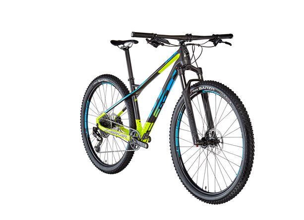 GT Bicycles Zaskar Carbon Pro satin raw/chartreuse/cyan