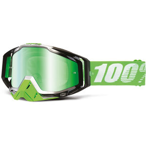100% Racecraft Anti Fog Mirror Goggles Organic bei fahrrad.de Online