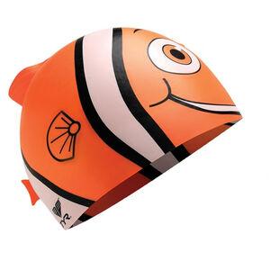 TYR Charactyrs Happy Fish Swimming Cap Kinder orange orange