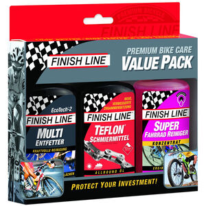 Finish Line Bike Care Value Pack 3 x 120ml