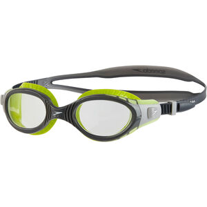 speedo Futura Biofuse Flexiseal Goggles lime/usa charcoal/clear lime/usa charcoal/clear