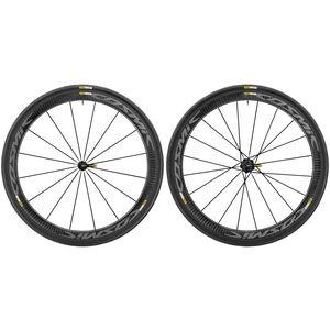 Mavic Cosmic Pro Carbon Exalith 17 Laufradsatz Shimano 25 schwarz schwarz