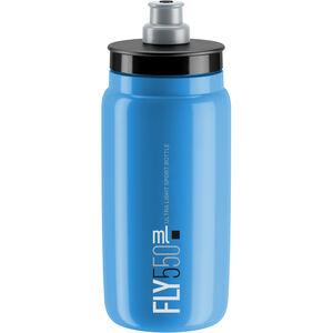 Elite Fly Trinkflasche 550ml blau/schwarzes logo
