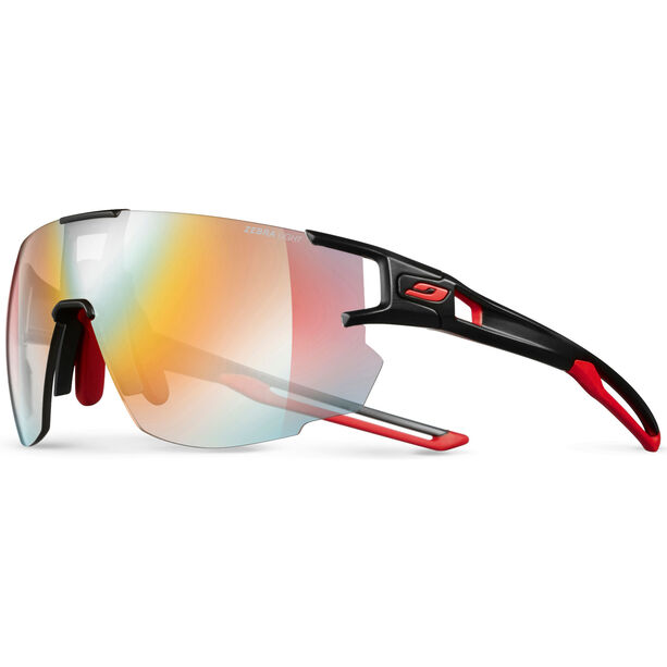 Julbo Aerospeed Zebra Light Red Sunglasses black/red/red-multilayer red