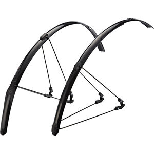 Zefal Shield R30 Schutzblechset schwarz schwarz