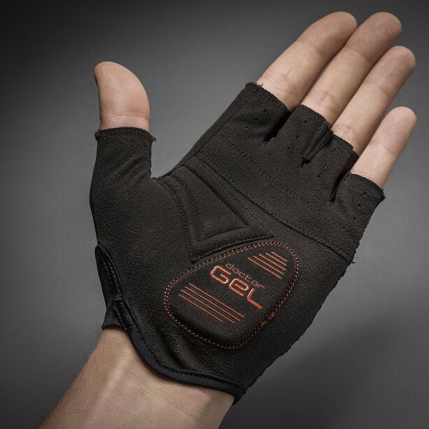 GripGrab Solara Padded Tan Through Short Finger Gloves black