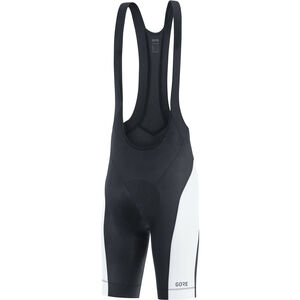 GORE WEAR C3 Bib Tights short Men black/white bei fahrrad.de Online