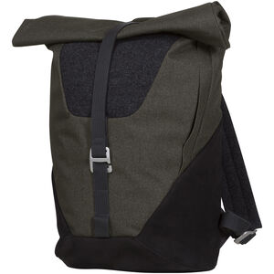 Bergans Oslo Roll-Top Daypack solid charcoal/black solid charcoal/black