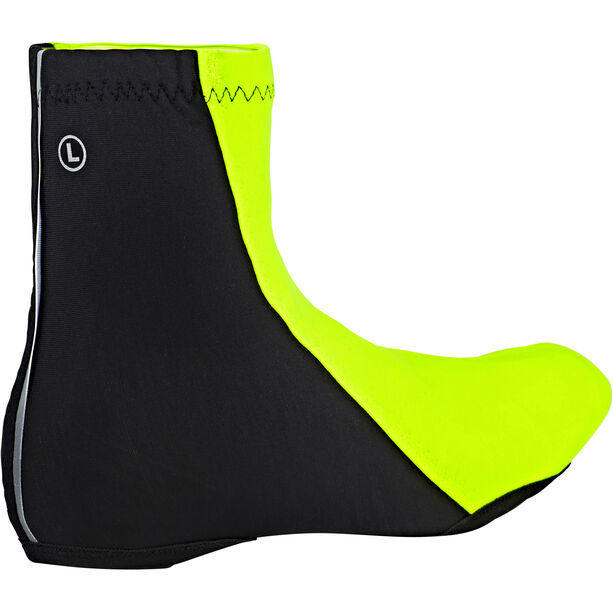 GORE WEAR C3 Partial Windstopper Overshoes neon yellow/black