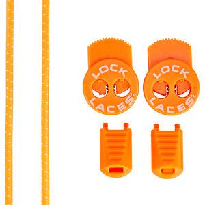 Lock Laces Run Laces Neon Orange neon orange