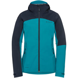 VAUDE Moab Rain Jacket Women alpine lake