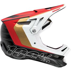 100% Aircraft DH Helmet incl. Mips ltd. red ltd. red