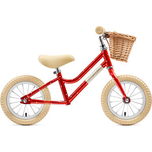 "Creme Mia Push-Bike 12"" Kinder red polka red polka"